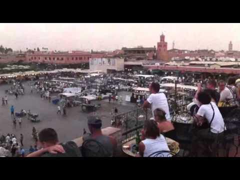 Marrakech Jemaa El Fna – Marakesz nocą, Wielki Plac