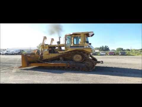 1990 Caterpillar D7H Series II dozer for sale | no-reserve Internet auction September 29, 2016