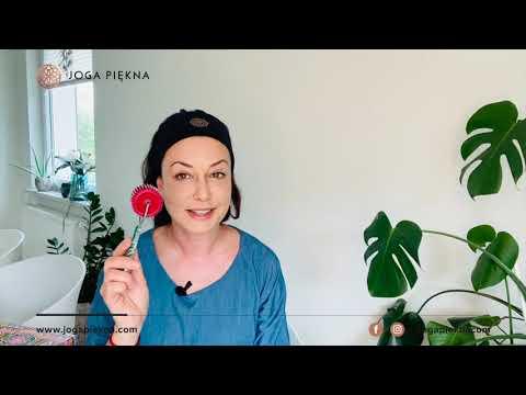 Wykorzystanie wałka wieloigłowego do masażu twarzy i szyi