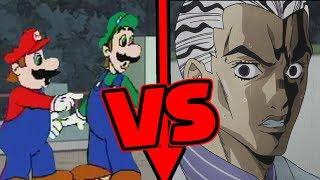 Mario & Luigi VS Kira Yoshikage