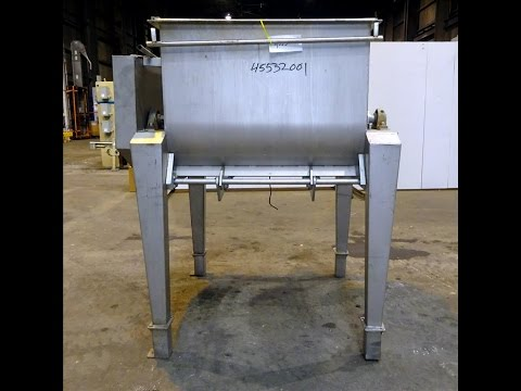 Used- Forberg Style Twin Shaft Paddle Mixer - stock # 45532001