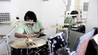 OH CHENTAKU : S.I.R.R Drum Cover. 2 Mic drum recording! HD