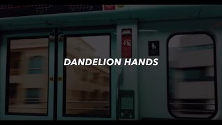 dandelion hands // i like you (lyrics)