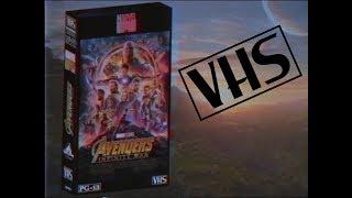 Avengers Infinity War VHS Commercial