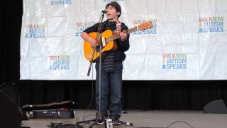 Caleb Cascio (9 Years Old) sings Miles Above You, by Jesse Warren