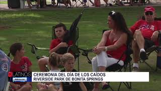 Informe sobre Memorial Day en Bonita Springs