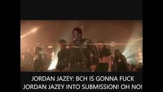 JORDAN JAZEY BITCH ASS LIL MIDGET MONKEY BOY SURRENDERS IN SHAME!!
