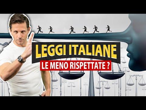 Le LEGGI MENO RISPETTATE dallo STATO Italiano | Avv. Angelo Greco