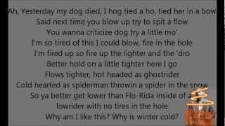 Eminem - On Fire lyrics [HD]