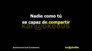 karaoke Nadie Como Tú . LOVG
