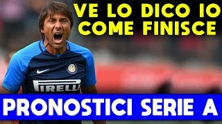VE LO DICO IO COME FINISCE...! ► PRONOSTICO CLASSIFICA SERIE A 2019/2020