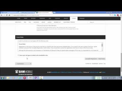 كيفية تحميل الرومات من موقع Sammobile