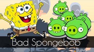 Bad Piggies - BAD SPONGEBOB (Mini Bad Piggies Game) - Part 3