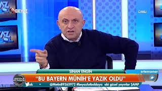 Sinan Engin: Bayern Münih'e yazık oldu...Beşiktaş içinden geçecek
