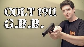 Vendo Airsoft Pistola Colt 1911 Classica GBB Full Metal - Legalizada Brasil