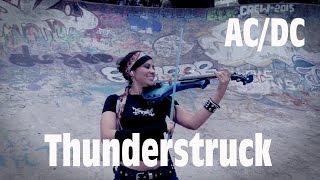 AC/DC 💿 en VIOLIN ELECTRICO!! (Thunderstruck)...genial!!