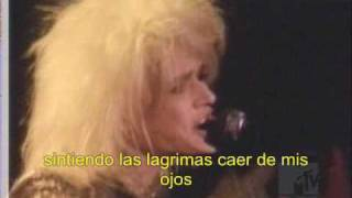dont you ever leave me-hanoi rocks subtitulado español