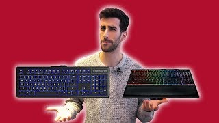 Why Membrane Keyboards SUCK. Gamers beware!