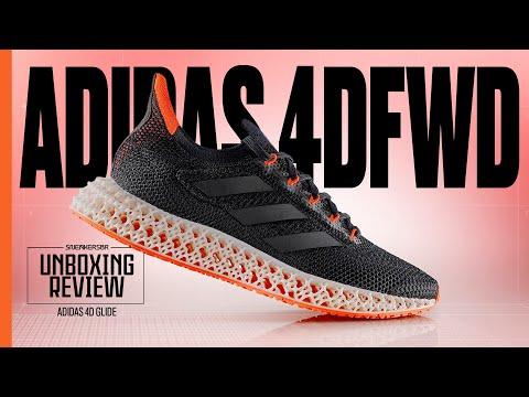 Uma Nova Geração Dos Solados adidas 4D | UNBOXING+REVIEW adidas 4DFWD