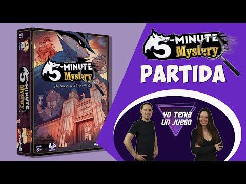 5 Minute Mystery | Partida y Toma Falsa | Juego de mesa | Español
