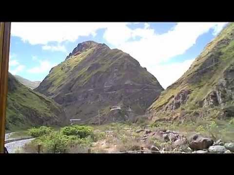 Nariz Del Diablo (The Devil's Nose) Alausi Ecuador