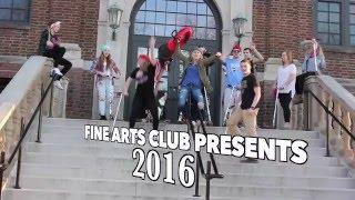 OTHS Fine Arts Club 2016 - Downtown Parody