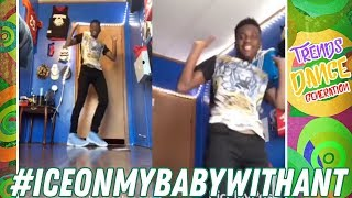 Ice On My Baby Challenge Best Dance Compilation #iceonmybabywithant