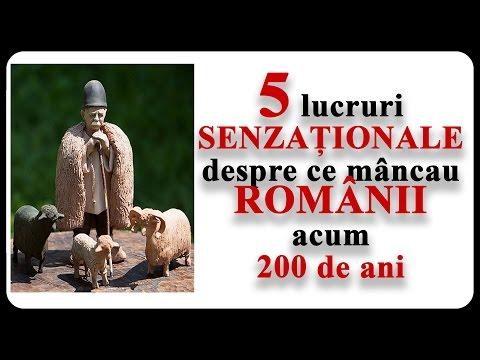 Ce mâncau ROMÂNII acum 200 de ani