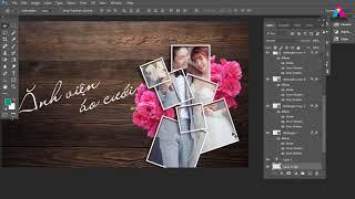 hiệu ứng với ảnh trong thiết kế đồ họa, photoshop