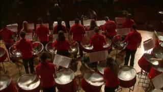 NIU Steel Band ft. Liam Teague and Dr. Wooten - Paganini adap. Abe Breiling - Moto Perpetuo, Op. 11