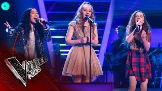 Marby, Victoria, Brooke - 'There Must Be An Angel': Battles | The Voice Kids UK 2017