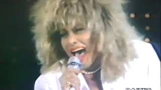 "TINA TURNER - Rai Uno TV-Show Italy 1987 ""Two People"""