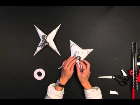 Photowall tutorial - wallpaper star diy