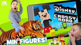 Disney Crossy Road Game and Crossy Road Collectibles Unboxing!