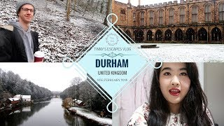 A Short Trip to Durham During Winter | Durham UK || Tinny's ESCAPES Vlog width=