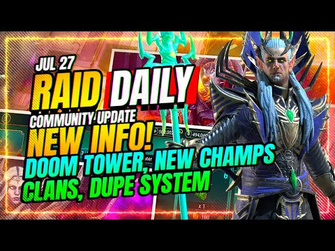 What's NEXT in Raid VID IS OUT! MY REACTION! | RAID Shadow Legends