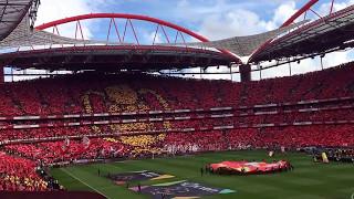 Hino do Tetra S L Benfica 13 Maio 2017