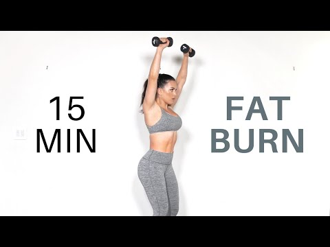 15 min Fat Burning HIIT Workout (Shoulders & Abs)