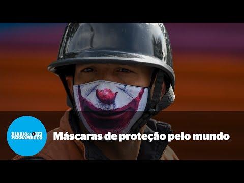 Confira galeria de máscaras de proteção inusitadas ao redor do mundo