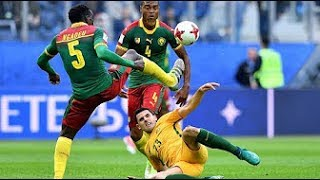 Cameroon vs Australia (1-1) All Goals And Highlights HD 720p (22/06/17)