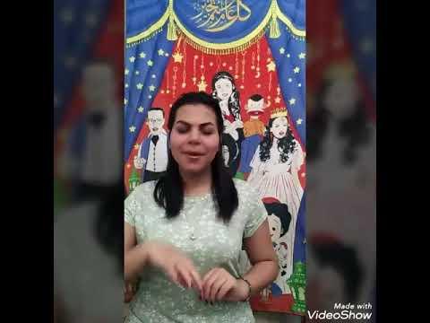 اغنية رمضان نور محمد حماقي بلغة الاشاره #فريق سكوتك مسموع