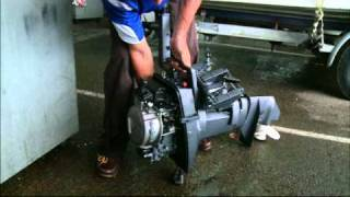 Drowned Outboard Motor - What to do - YouTube