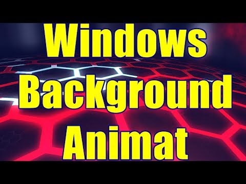 Cum pui Wallpaper Video pe Ecran /Windows Background Animat