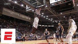 Zion Williamson & R.J. Barrett highlights Duke vs. Toronto: Barrett 35 pts, Zion 24 pts   ESPN