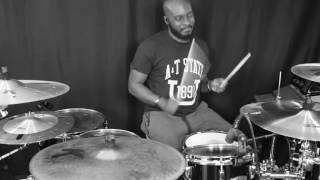 Chris Brown - Grass Ain't Greener (Drum Cover)