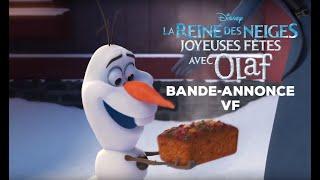 La Reine Des Neiges : Joyeuses Fêtes Avec Olaf | Bande-Annonce VF | Disney BE