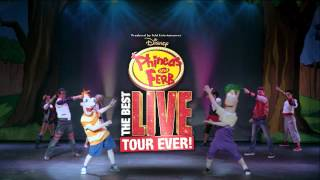 Phineas and Ferb: Best LIVE Show EVER! Hits TheDow Event Center Nov. 3rd!