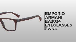487132ec1dd5 Emporio Armani EA3034 5229 Glasses Black