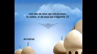Vidéo : Sourate Al-Fâtihah (L´ouverture) - Mishary Rashid Alafasy [Traduite en français]
