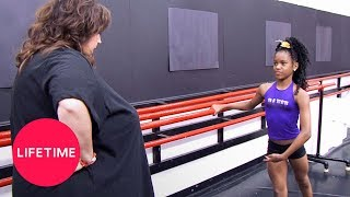 Dance Moms: Nicaya Auditions for the ALDC (Season 2 Flashback) | Lifetime